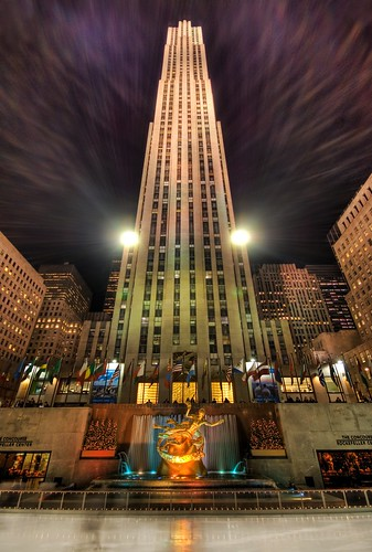 Ice Skating at Rockefeller Center | Flickr - Photo Sharing!