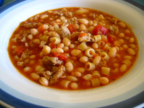The Savory Notebook: Pasta e Fagioli