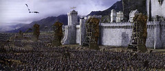 Minas Tirith sitiada