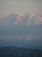 Zoomed shot of Rainier