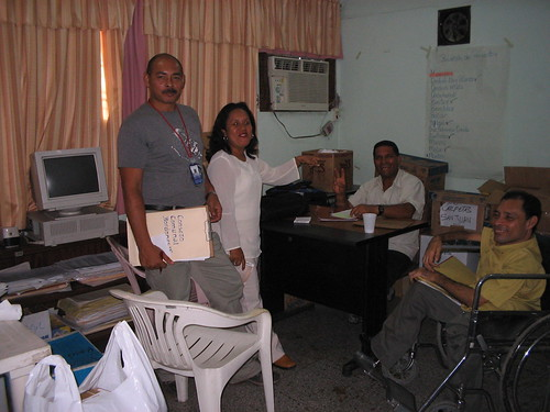 Fundacomun office, Sucre