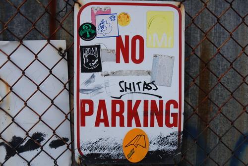 No Shitass Parking