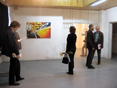 oppening of exhibition Beach culture in Bercsényi