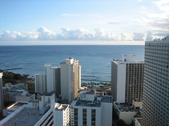 View from Room 3706 (alliecreative) Tags: hawaii waikiki oahu waikikisunset