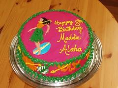 Bowling Luau Cake (cupcakelady) Tags: flowers cakes cake cupcakes cupcake luau
