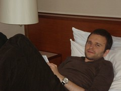 Ben in bed