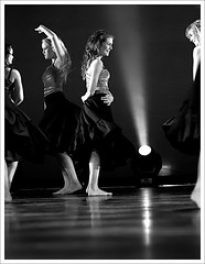 ballet IV (sigrun th) Tags: lighting light bw ballet black art contrast blackwhite iceland dance nice perfect dof angle theatre stage great joy daughter performance perspective reykjavik winner excellent expressive lovely tones contrasty icelandic verynice greatangle