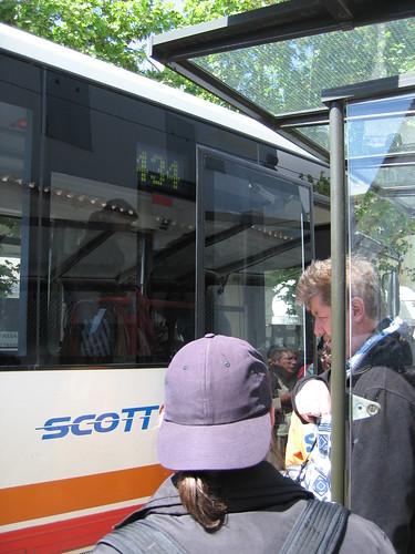 辛特拉的公車站