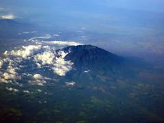 volcano (chotda) Tags: ocean volcano islands philippines aerial