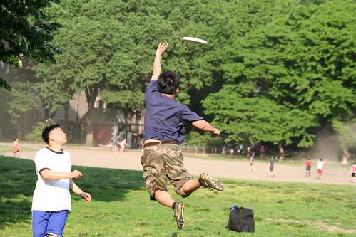 Frisbee 26 May