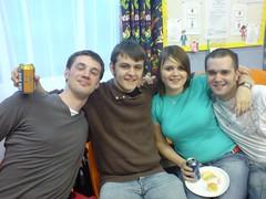 Dan, Chris, Emma & Cameron