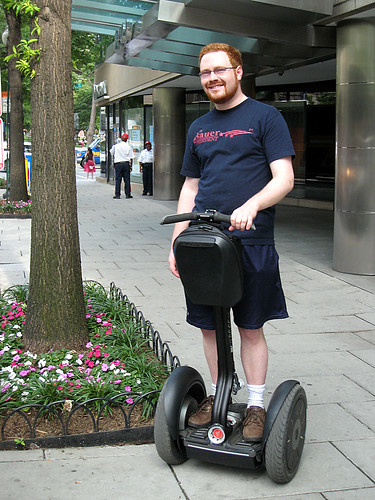 Cool Segway Man