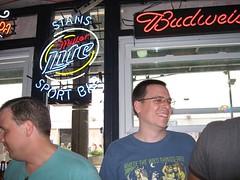 Bachelor Chris at Stan's Sport Bar