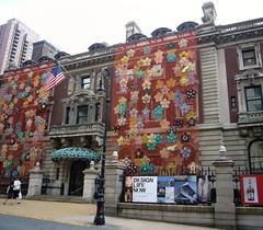Cooper-Hewitt, National Design Museum (ggnyc) Tags: nyc flowers newyork museum manhattan 5thavenue uppereastside cooperhewitt nationaldesignmuseum