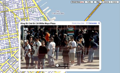 Frank Chu on Google Maps Street View