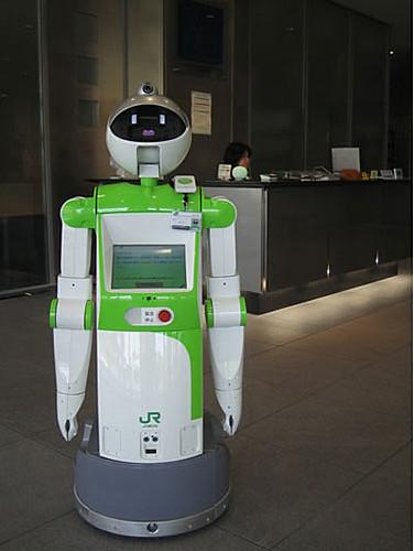 Robots en las estaciones de tren class=
