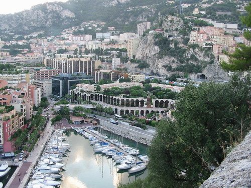 Harbour in Monaco