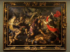 """Alexander the Great and the Fates"", Bernando Mei, c.1667 (Joey Hinton) Tags: olympus omd em1 cincinnati art museum mft m43 microfourthirds 1240mm f28"