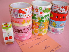 Deco-tapes (Cludia*~Assad) Tags: sweet melody biscuit clover fofas happycolor cramcream decotapes candylove