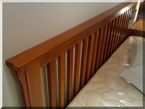 家具-詩肯柚木 床架-1