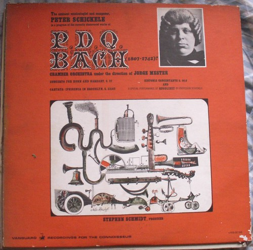 "LP Dust Jacket ""An Evening With PDQ Bach"""