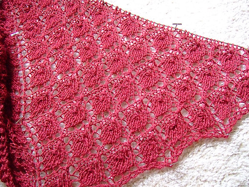 Forest Canopy Shoulder Shawl 2
