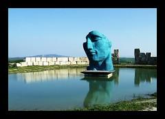 teatro del silenzio (ozio-bao) Tags: blue green teatro silence tuscany teatre silenzio challengeyouwinner abigfave lajatico teatrodelsilenzio oziobao