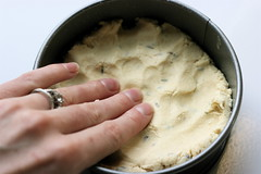 Lavender Shortbread Dough