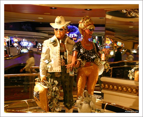 Buck and Winne at Harrahs Casino - Las Vegas