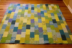 finished brick road quilt (jrcraft) Tags: quilt quilting brickroad stippling freemotionquilting brickroadpattern