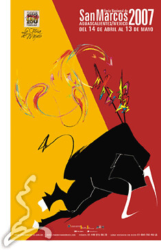 affiche Feria San Marcos 2007