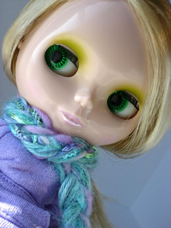 Rapunzel Scarf for Josie!