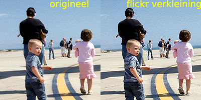 Flickr en verscherping