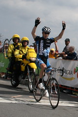 Levi Leipheimer Wins Stage Five