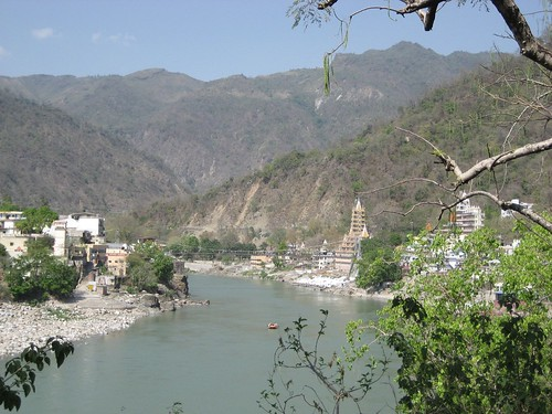 The Ganges River at Rishikesh