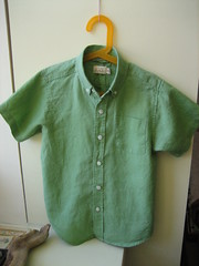 Green shirt for Earth Day