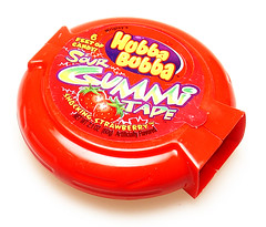 Hubba Bubba Sour Gummi Tape