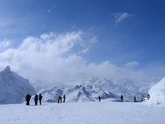 Courchevel (kuzdra) Tags: sky snow france mountains alpes landscape high courchevel montagnes antonina        francelandscapes  bestofblue kuzdra