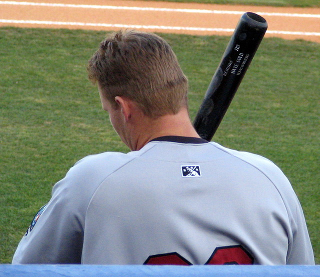 Nate Gold, #20, First Base, Oklahoma Redhawks