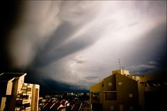 (Shemer) Tags: sky cloud building wow dramatic neighborhood drama dramaticsky abigfave
