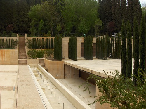 skinny trees of the Alhambra