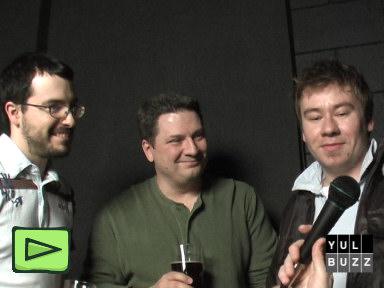 Laurent Lasalle, Bob Goyetche et Sylvain Grand'Maison au PodMtl