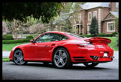 porsche 997 turbo (howIroll) Tags: auto red car speed 911 fast turbo porsche tt 997 porscheturbo fabspeed 997tt porse997tubo