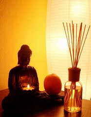 orange is ZEN (orangeisin) Tags: orange buddha orangeisin