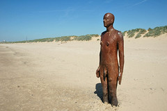 Another Place (Sea Pigeon) Tags: sculpture men beach liverpool iron place another antony mersey gormley crosby sefton