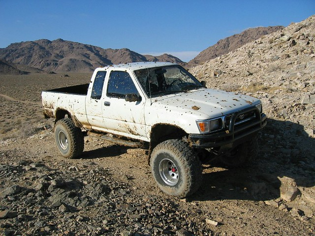 mud pickup toyota