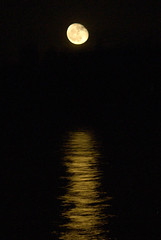 reveal yourself (m krause) Tags: california ca camping orange moon lake reflection nature night landscape evening lowlight glow m moonlight ambiant flickrsbest megankrause lakebarryessa mkrause mkrausephotography megankrausephotography wwwmegankrausecom