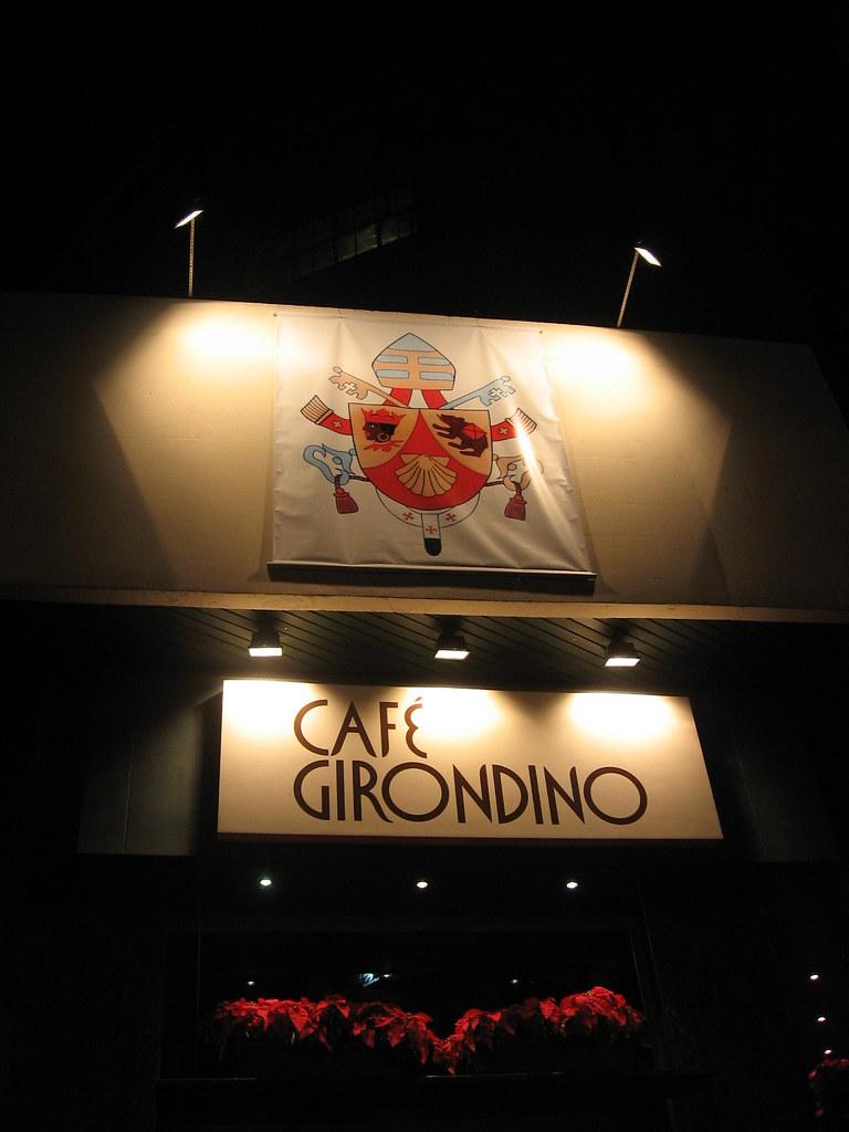 Café Girondino e o Brasão do Papa