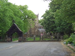 St Mary's Penwortham from Church Avenue