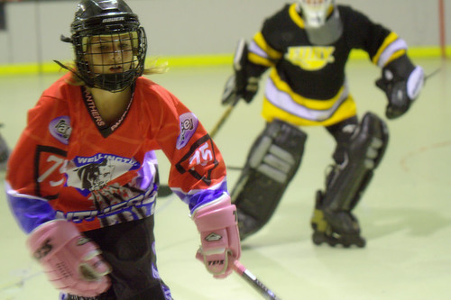 Hockey 2007 - Girl Power Action